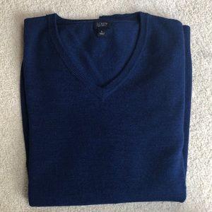 J Crew large royal blue sweater